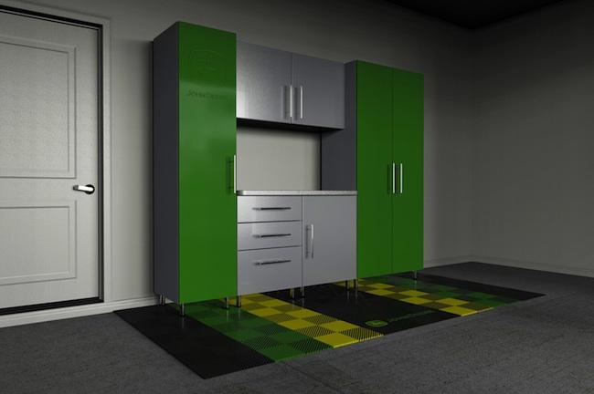 John Deere Garage Storage