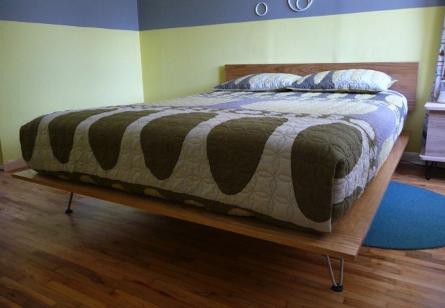 Permalink to how to make a platform bed with legs