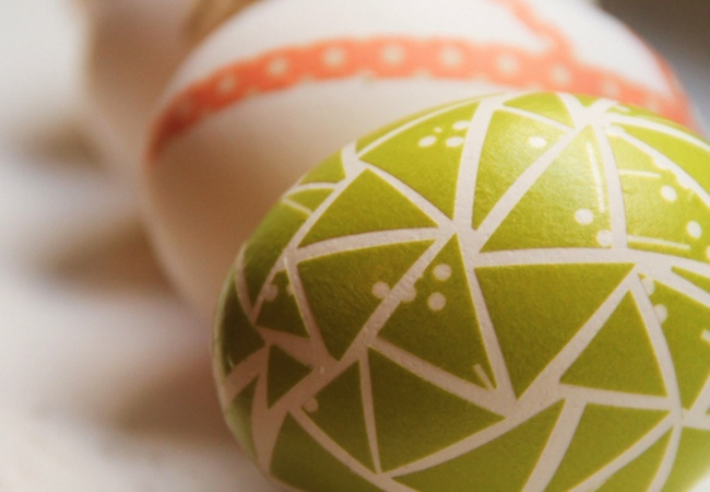 Washi Tape Projects - Eggs