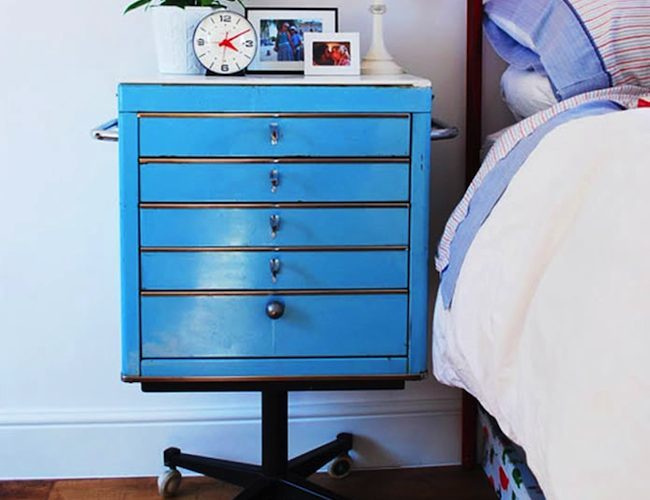 DIY Nightstand - Tool Chest