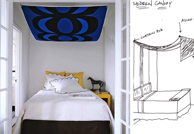 DIY Canopy Bed - Modern