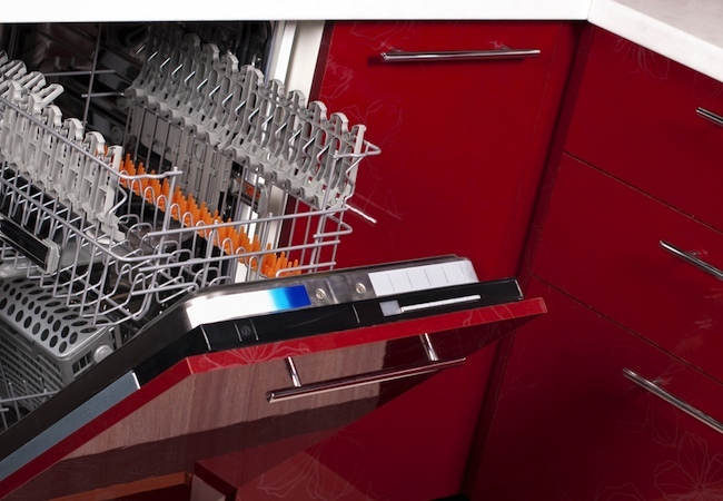 How to Clean a Dishwasher - Open