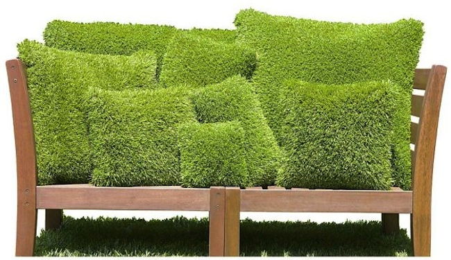 Artificial Turf DIY - Pillows