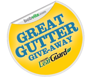 Great Gutter Give-Away