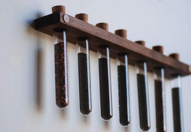 Test Tube Crafts - Spice Rack