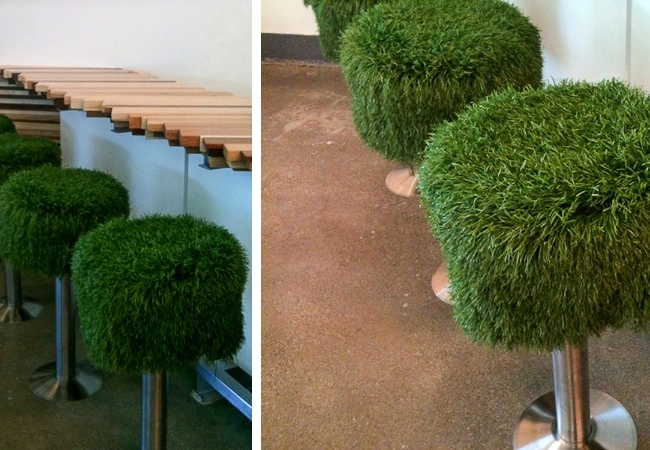 Artificial Turf DIY - Stools