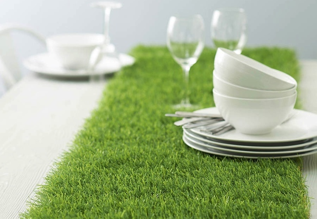 Artificial Turf DIY - Table Runner
