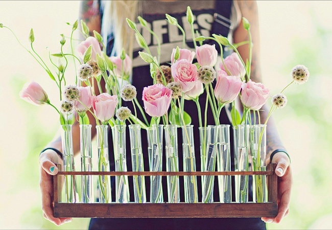 Test Tube Crafts - Vase