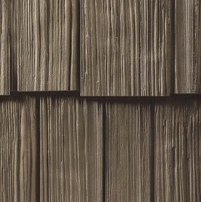 Hand-Split Cedar Vinyl Siding