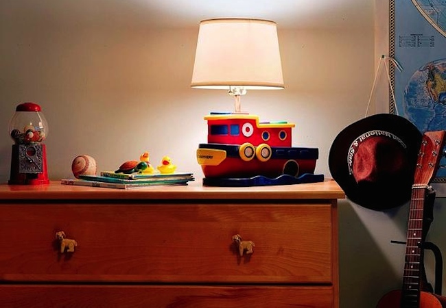 Repurposed Toys - Lamp