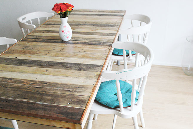 Image Result For How To Make Your Own Rustic Dining Room Table