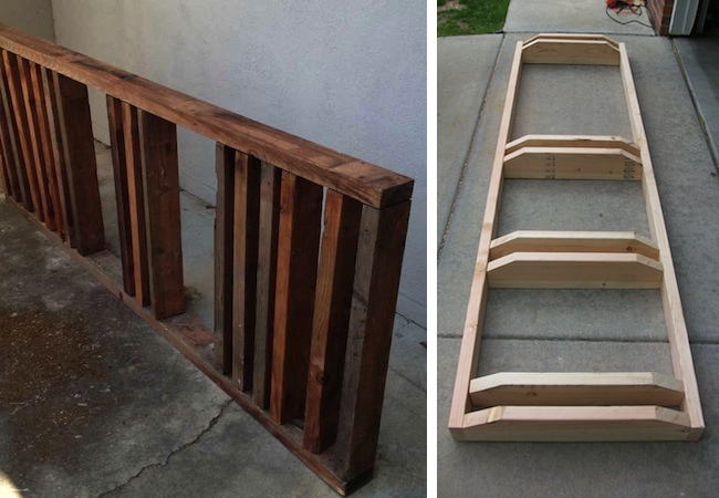 DIY Bike Rack - Scrap Wood