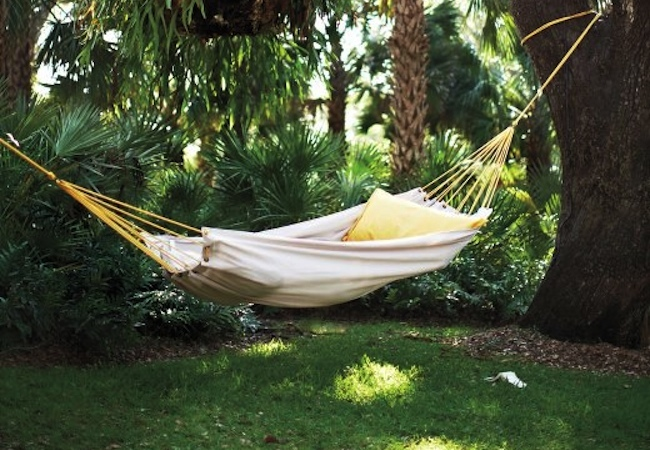 DIY Hammock - Drop Cloth