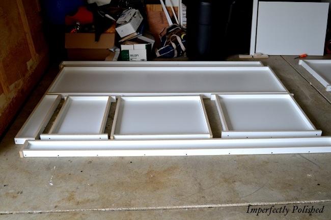 Melamine Forms for DIY Concrete Countertops