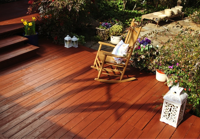 Thompsons Waterproofing Stain - Finished Deck