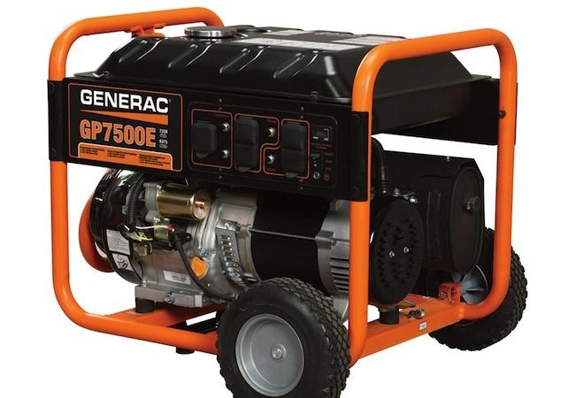 Best Generators - generac gp7500e