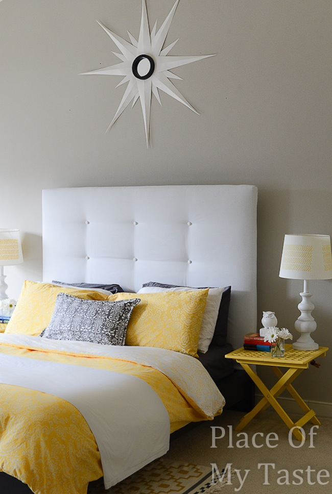 IKEA DIY Headboard Final