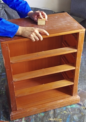 How to Refinish a Dresser - Sanding