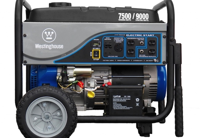 Best Generators - westinghouse wh7500