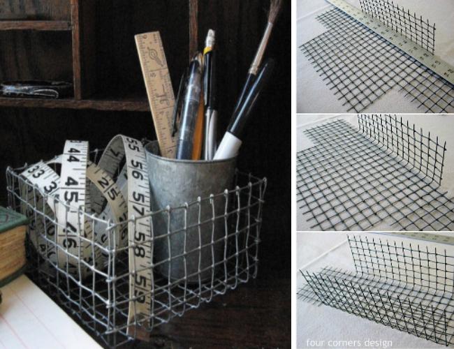 Refrigerator Organization - DIY Baskets