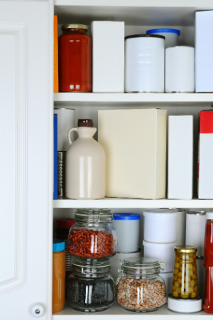How to Clean Kitchen Cabinets - Interior Detail