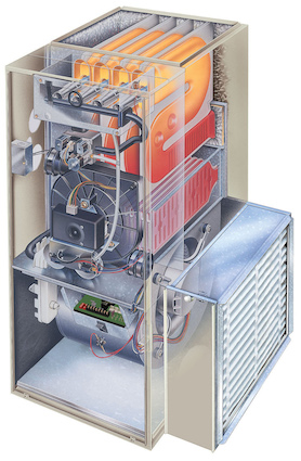 Furnace Cleaning and Maintenance - Diagram