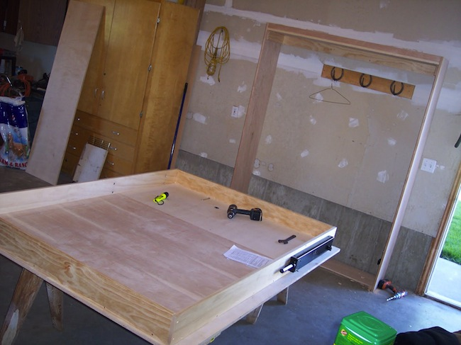 DIY Murphy Bed - Process