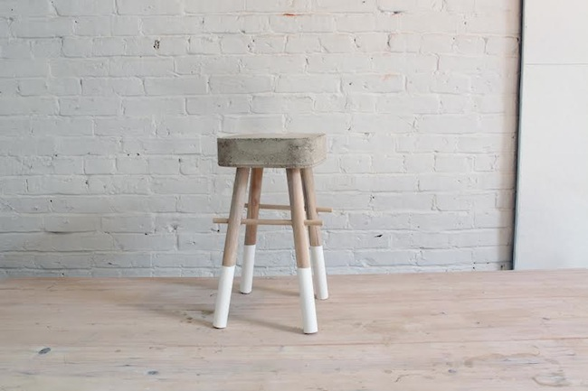 Homemade Modern's Concrete Stool