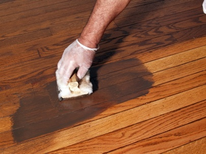 How to Refinish Hardwood Floors - Stain