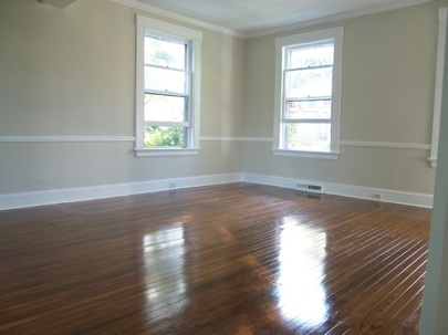 How to Refinish Hardwood Floors - After