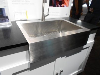 High Quality Kohler Whitehaven Apron Sink K 6489 Stainless Front Kitchen Remodel Short  Installation Vault