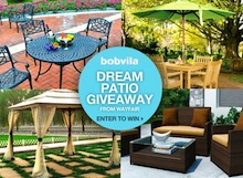 Bob Vila's Dream Patio GIve-Away