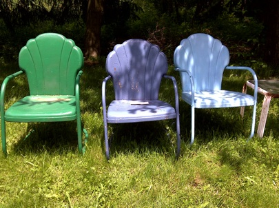 retro lawn furniture on pinterest metal lawn chairs