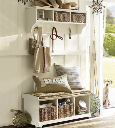 Pottery Barn Samantha Entry Way Storage/Organization