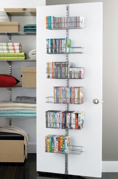 The Container Store Platinum Door Rack