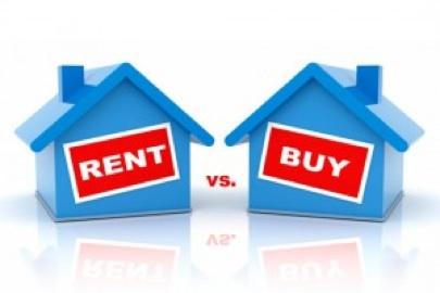 ChicagolandRealEstateForum.com Rent vs. Buy graphic