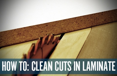 Clean-cutting-laminate