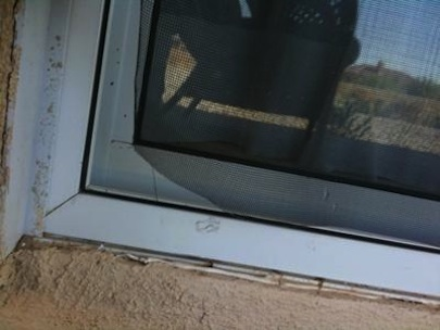 Com Torn Screen At Corner Of My Sliding Patio Screen Door 21283334