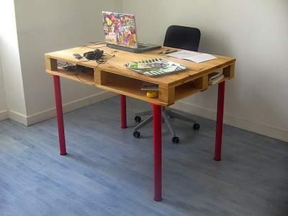 Shipping Pallets Desk