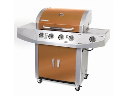 Home Depot Brinkmann 4-Burner Propane Grill in Copper