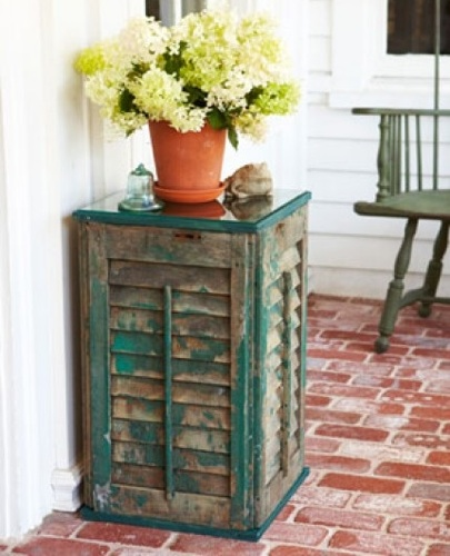 Things To Do With Wood Shutters