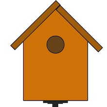 Make a Birdhouse - Diagram