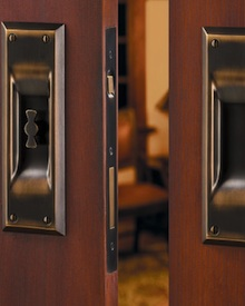 Pocket Door Designs Hardware Detail