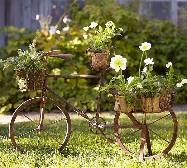 DIY Old Bicycles - Pottery Barn