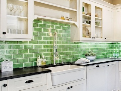 "Fireclay Tile recycled ""Debris Series"""