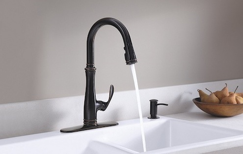 Oil-Rubbed Bronze Finish - Kohler