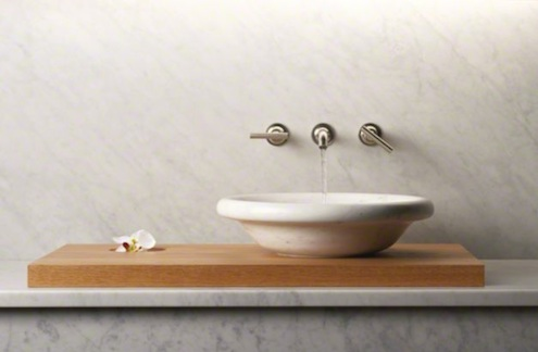 Bathroom Sinks - Kohler Botticelli Marble Vessel sink