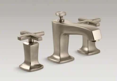 Kohler-Margaux-Bathroom-Faucet-Cross-Handles-Vibrant-Bronze-Finish