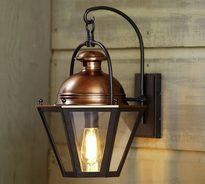 Pottery Barn Case Sconce