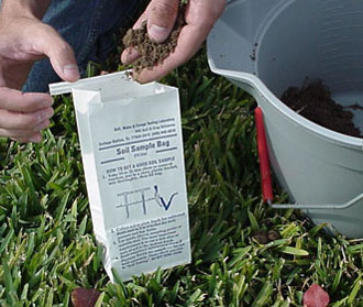 Local Extension Office soil test